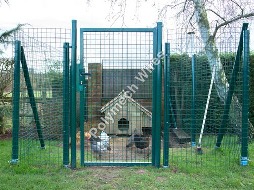 Farm Door Weldmesh Fencing
