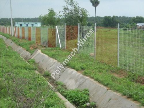 Weldmesh Shed Fencing